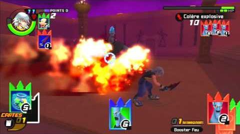 Kingdom Hearts Re Chain of Memories Reverse Rebirth Combat contre Hadès