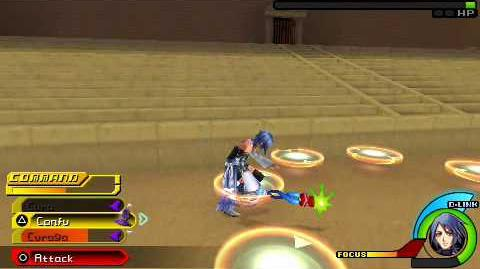 Kingdom Hearts Birth by Sleep - Aqua vs Zack