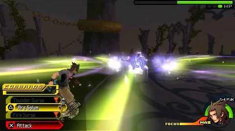 Kingdom Hearts Birth by Sleep - Master Eraqus - Terra Critical Mode