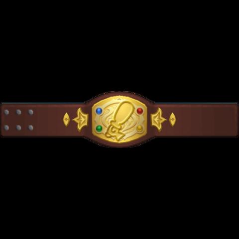 Render de Cinto de Campeón