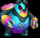 Kooma Panda (Nightmare) KH3D