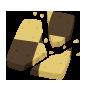 Pedazo de Caramelo KHχ