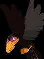Corbeau de Maléfique (Vol) KHχ