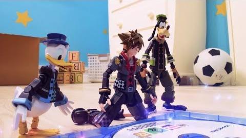 CuBaN VeRcEttI/Kingdom Hearts III muestra el mundo de Toy Story en un vídeo stop-motion