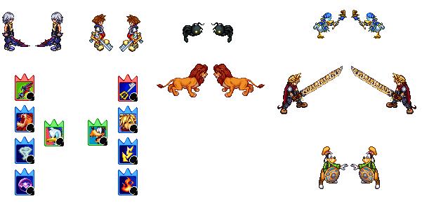 Imagen Kingdom Hearts Planteamiento Juego De Mesa Vs Imprimir Amb
