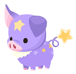 Purple Pigstar (Spirit) KHUX