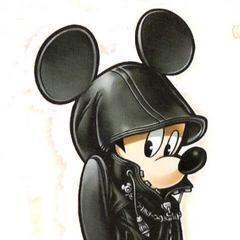 Artwork del Rey Mickey con el traje de la Org. XIII.
