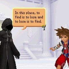 Sora Digital frente al encapuchado