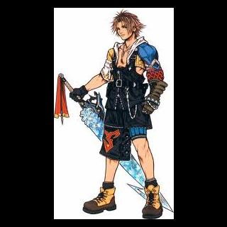 Tidus en Final Fantasy.