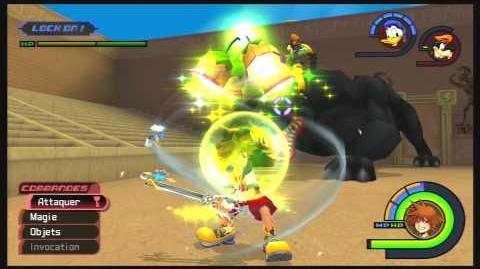 Kingdom Hearts -HD 1.5 ReMIX- Combat contre Cerbère 2