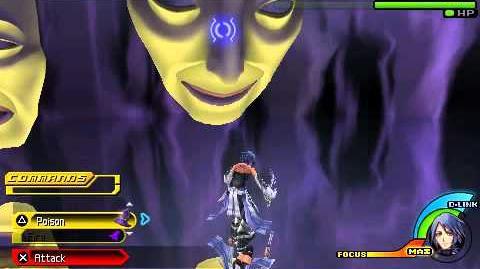 Kingdom Hearts Birth by Sleep - Magic Mirror - Aqua Critical Mode