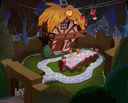 Wonderland- Tea Party Garden (Art) KH