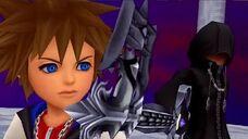 Kingdom Hearts Re Coded HD Final Boss - Roxas & Secret Ending
