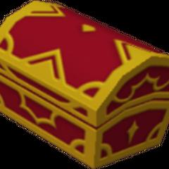 Un cofre rojo que aparece en Ciudad de Paso y Villa Crepúsculo