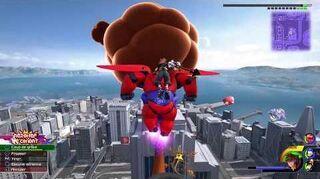 Kingdom Hearts III Expert Combat contre le Catastrocœurus