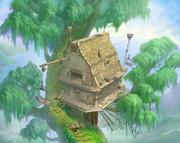 Deep Jungle- Treehouse 2 (Art) KH