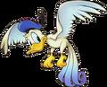 Donald- Bird Form (Art) KHII.png