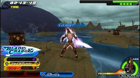 Kingdom Hearts Birth By Sleep Final Mix -Terra-BOSS Monstro - Monster of the Deep