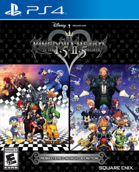 Kingdom Hearts I.5 + II.5 Remix Cover