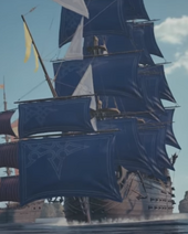 Luxord's Ship KHIII