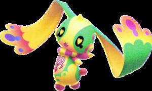 Me Me Bunny (Spirit) KH3D