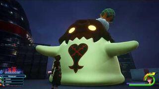 Kingdom Hearts III Mini-jeu Flan au melon