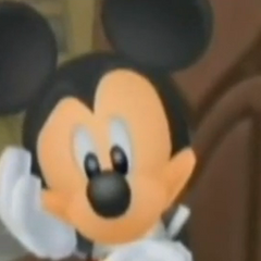 Mickey pensando