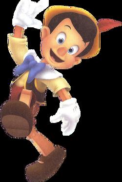 Pinocchio (Puppet) KH3D