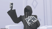 Luxord Holding Cards KH2
