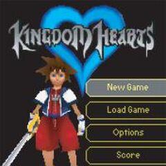 Menú de Kingdom Hearts V Cast