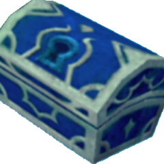 Un cofre azul que aparece en Atlántica