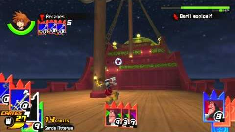Kingdom Hearts Re Chain of Memories Combat contre Crochet
