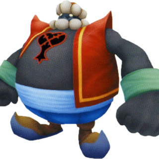 Bandido Obeso en <i>Kingdom Hearts Final Mix</i>