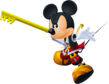 Roi Mickey (Action) KHII