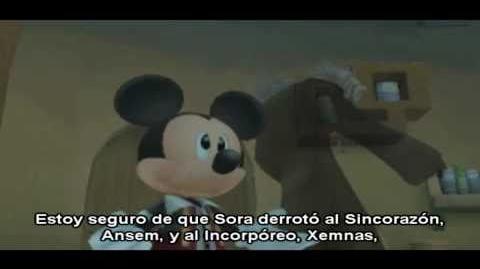 Kingdom Hearts Re Coded - Final Secreto - Spanish Subs