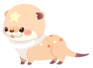 Orange Otterstar (Spirit) KHUX
