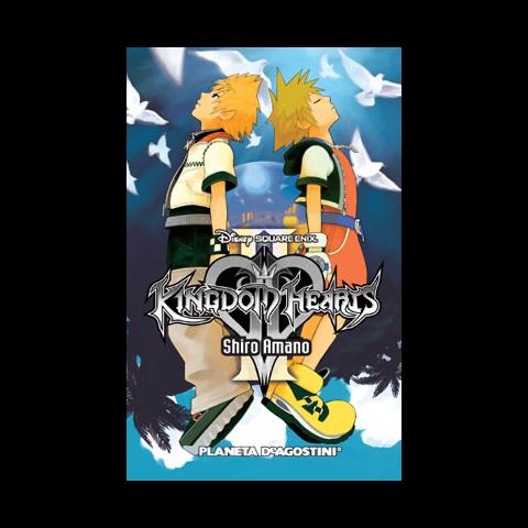 Antigua cubierta española del volumen 1 del manga de <i>Kingdom Hearts II</i>