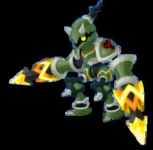 Blitz Spear KHUX