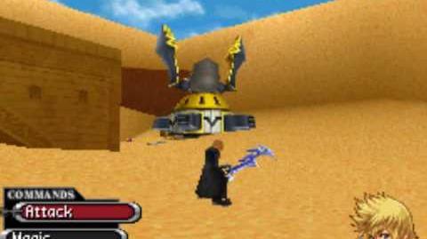 Kingdom Hearts 358 2 Days - Mission 32 - Boss Antlion