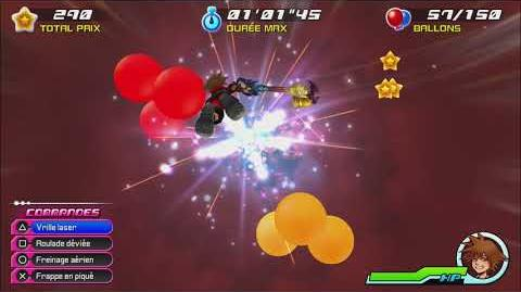 Kingdom Hearts 3D Dream Drop Distance HD Mode Transition Paradis des Garnements (Sora)