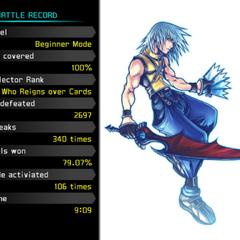 The End de la Historia de Riku en <i>Kingdom Hearts Re:Chain of Memories</i> en Modo Principiante.