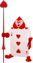 Card Soldier (Three of Hearts) KHX
