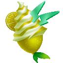 Glace citron vitaminé