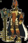 Terra- Keyblade Armor (Art) KHBBS