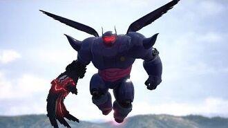Kingdom Hearts 3 Dark Baymax Boss Fight 15
