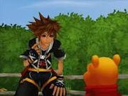 Pooh y Sora KH2