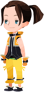 Keyblade Wielder (Sporty Black - Ponytail) KHX