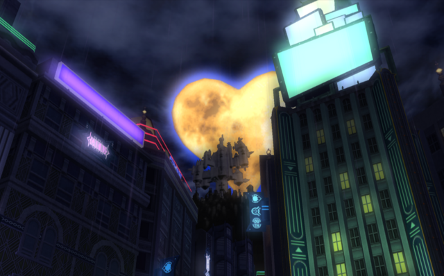Kingdom Hearts en Mundo Inexistente KHII