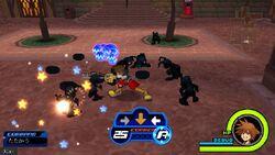 Kingdom Hearts Coded Gameplay