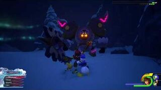 Kingdom Hearts III Expert Combat contre Rock'n'troll 2